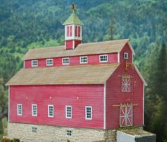 Monitor Barn - HO Scale Craftsman KIT