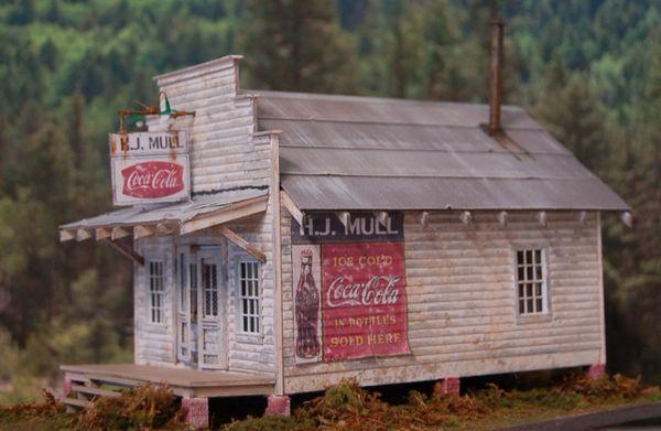H.J. MULL STORE - O Scale Craftsman KIT