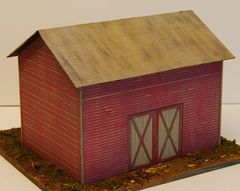 Country Barn - O Scale Craftsman KIT