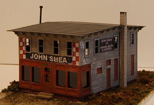 John Shea Building - HO Scale Craftsman KIT