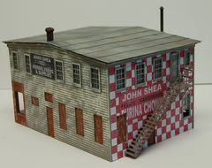 John Shea Building - O Scale Craftsman KIT