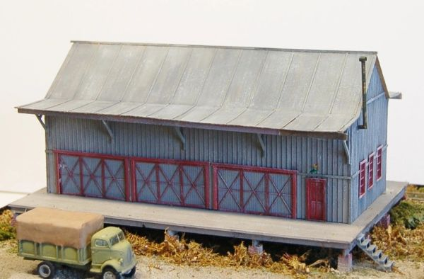 Western Maryland Standard W-14-A Freight House - SOLD OUT!!