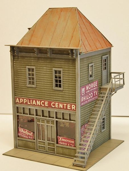 Water Street Appliance - O Scale Craftsman KIT