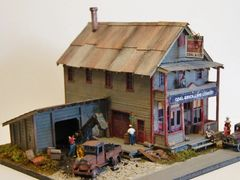 Conococheague Coal & Ice - Circa 1930 - HO Scale Craftsman KIT