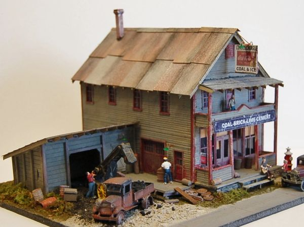 Conococheague Coal & Ice - Circa 1930 - HO Scale Craftsman KIT SOLD OUT!!!!