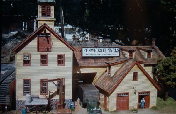 Fenwick's Funnels in HO Scale - SOLD OUT!!!