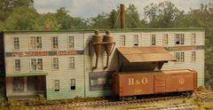 Bate's Crates (Background Building) - HO Scale Craftsman KIT