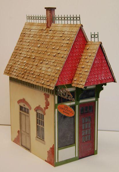HO Carolina's Victorian Book Store - Zip-Kit