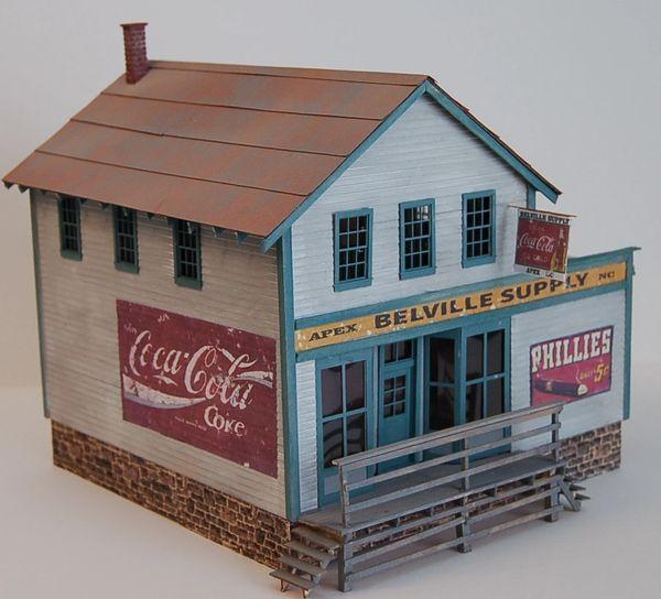 O Scale Belville Supply Craftsman Kit