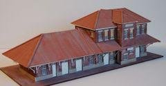 HO Western Maryland ELKINS WVa. Passenger Station -