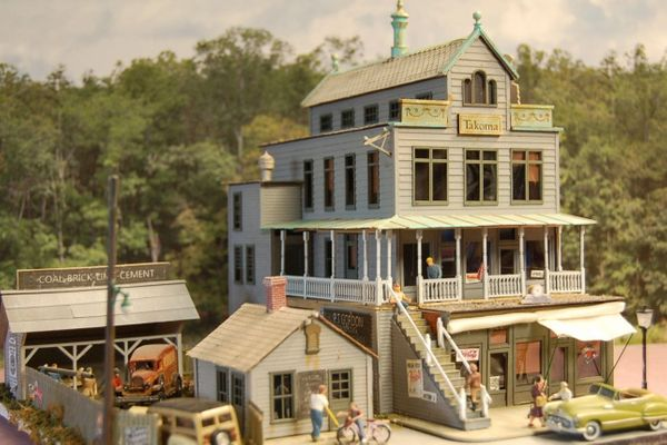 Takoma Shops - HO Scale Craftsman KIT