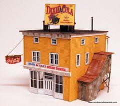 Blue & Gray Dixie Diner