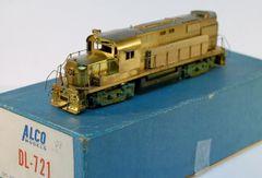 HO Brass ALCO/KMT DL721 - UNPAINTED