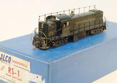 HO Brass ALCO/KMT RS1 PRR w/Antennae Custom Painted