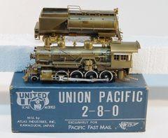 HO United UP 2-8-0 UNPAINTED