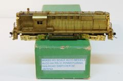 HO Brass ALCO/KMT RS11 PRR w/Antenna - UNOAINTED