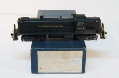 HO Brass RS3 Pennsylvania - PRO-PAINT & WEATHERED