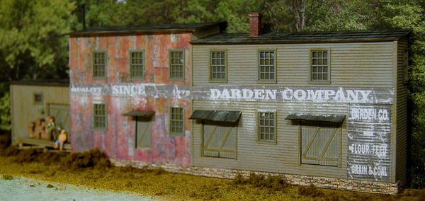 HO Darden #1 Background Flat
