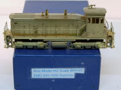 HO Brass ALCO/KMT SW-1500 Switcher - UNPAINTED