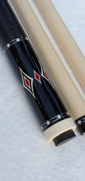 Ariel Carmeli 8 pt Ebony with red