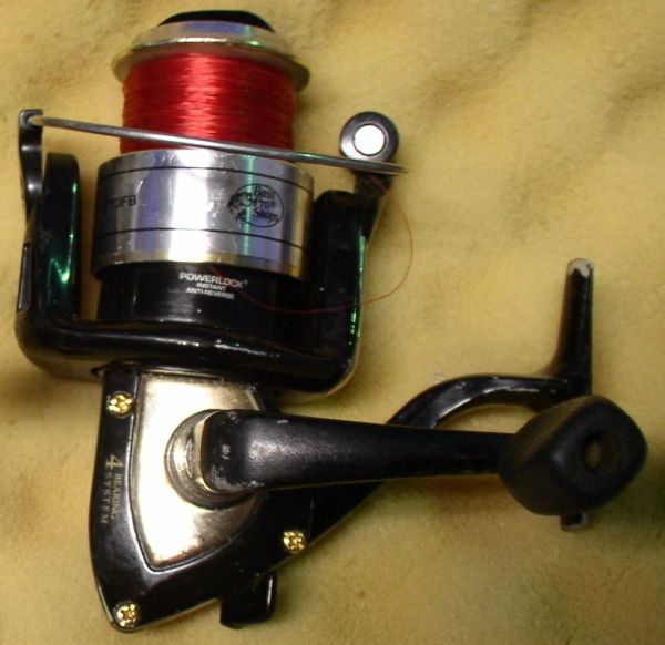 USED BASS PRO #MCX30BF MEGA CAST SPINNING REEL NO PACKAGING