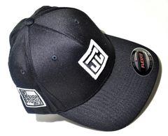 JUST CREATIV FLEXI FIT CAP - BLACK