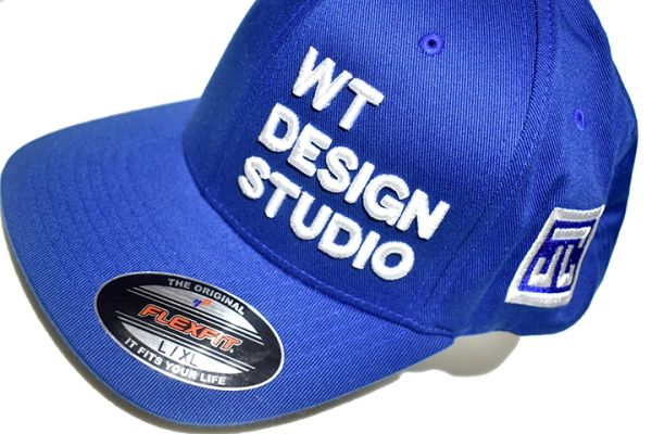 WT DESIGN STUDIO - FLEXI FIT CAP - BLUE