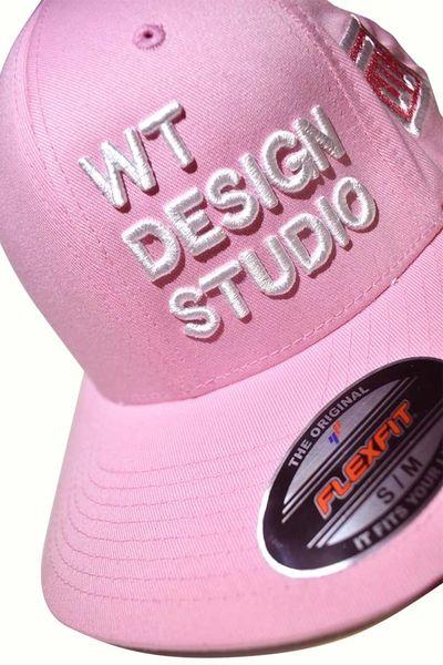 WT DESIGN STUDIO - FLEXI FIT CAP - PINK