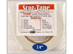 "Scor-Tape (002) 1/4"""