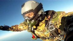 28,000 ft. SOLO Halo skydive for license jumpers