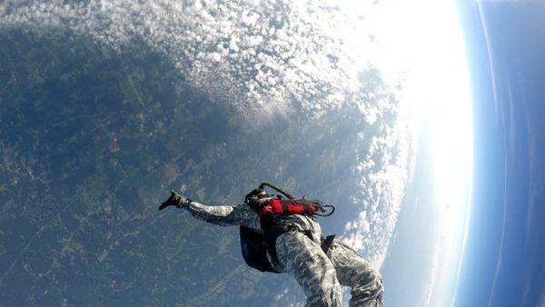 Nevada State record - Las Vegas Solo Slot - 32,000 ft O2 HALO jump. (7 slots)