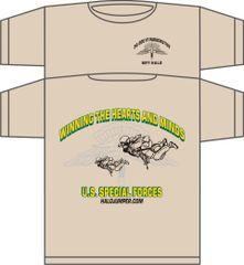 Special Forces Halojumper T-Shirt Khaki Desert