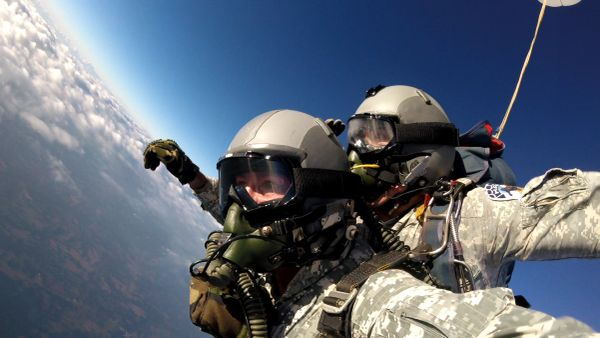 MONTANA State Record Tandem HALO oxygen jump from 32,000 ft.