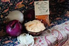 Sweet Red Onion Dip Mix