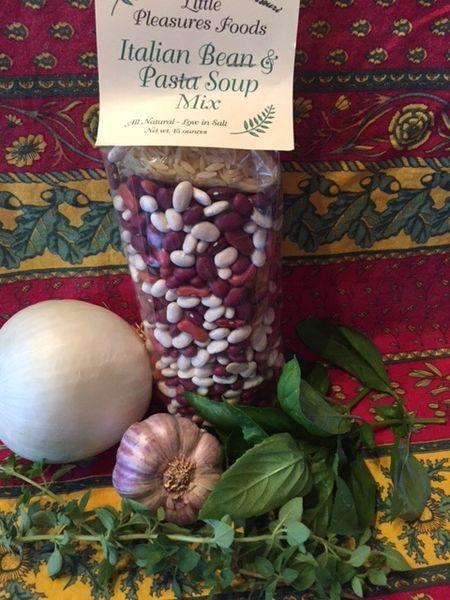 Italian Bean & Pasta Soup Mix