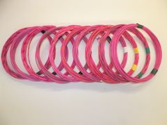 PINK hi temp automotive 20 gauge TXL wire + 10 STRIPED color wiring options