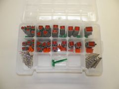 191 PC GRAY DEUTSCH DT CONNECTOR KIT STAMP CONTACTS + REMOVAL TOOL