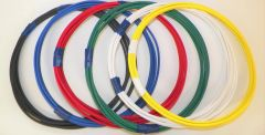18 Gauge GXL Wire - 6 solid colors each 5 foot long