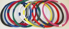 18 Gauge GXL Wire - 10 solid colors each 5 foot long