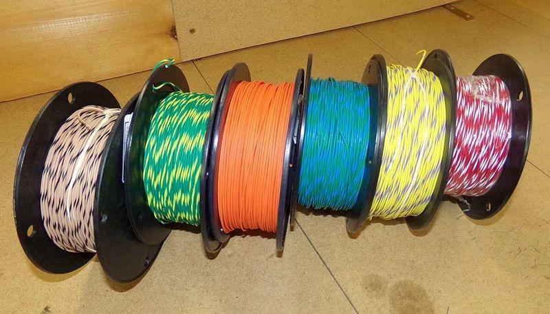 Striped Automotive Wire - GXL TXL