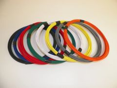 12 Gauge GXL Wire - 8 solid colors each 25 foot long