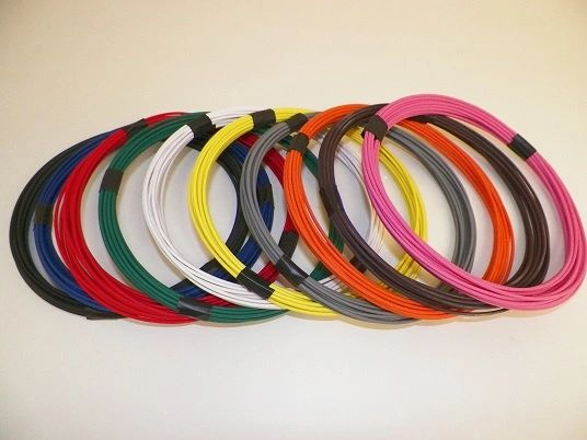 12 Gauge GXL Wire - 10 solid colors each 25 foot long