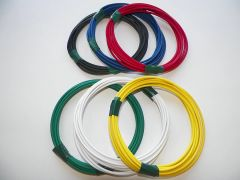 18 gauge TXL wire - 6 solid colors each 10 foot long
