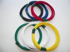 18 gauge TXL wire - 6 solid colors each 25 foot long