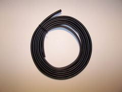 Black PVC Sleeve wiring harness loom flexiable wire cover protection
