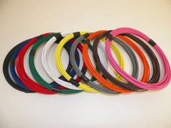 16 Gauge GXL Wire - 10 solid colors each 25 foot long