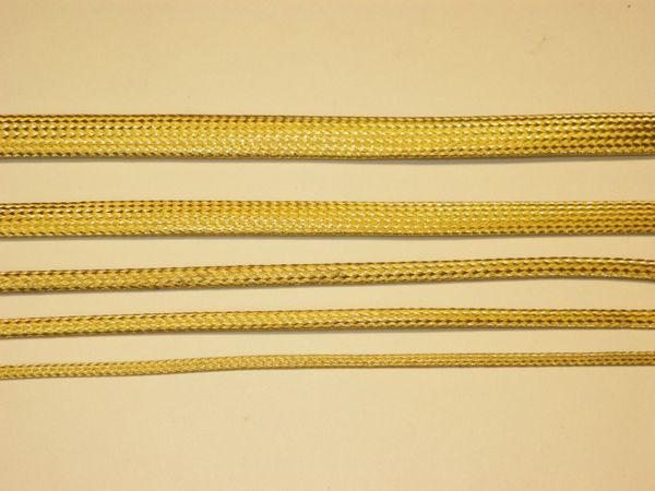 Braided Brass Sleeve