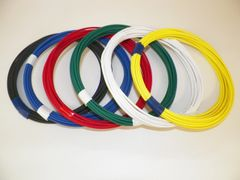 14 gauge GXL wire - 6 solid colors each 10 foot long