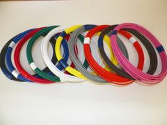22 Gauge TXL Wire - 10 solid colors each 10 foot long