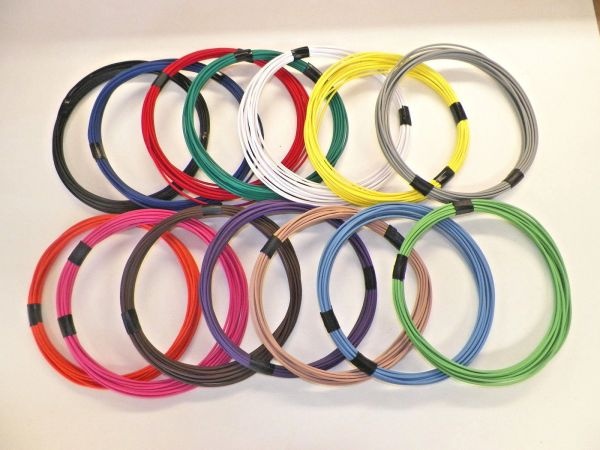 20 Gauge TXL wire - Individual Color and Size Options